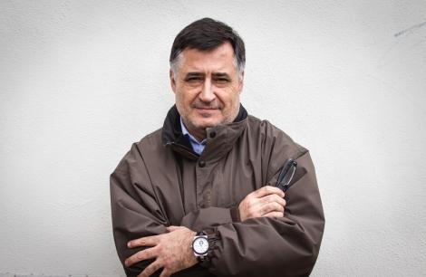 Gervasio Sánchez, retratado en Burgos el 17 de marzo de 2013. Fotografía de Guillermo Rivas