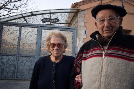 Aquilino y Nanci, su compañera. Foto: Guillermo Rivas
