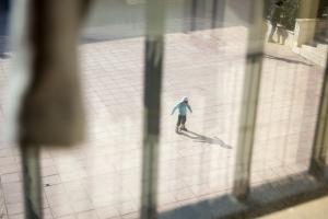 Los niños en Amán van a clase en los colegios católicos, como el del monaterio, pero se sienten desubicados en el Jordania | Daniel Rivas Pacheco
