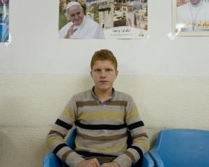 La gran mayoría de los cristianos del norte de Irak descienden de la raza asiria: son rubios, pelirrojos; y muchos tienen los ojos azules | Daniel Rivas Pacheco