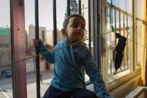 En el monasterio de Marka los niños no tienen muchas distracciones, son conscientes de su situación como exiliados | Daniel Rivas Pacheco