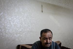 Waadallah es profesor universitario, periodista, poeta y habla cinco idomas. En agosto de 2014 huyó de Irak ante la ofensiva del ISIS contra la ciudad de Qaraqosh. Ahora vive refugiado en  Jordania | Javi Julio/Nervio Foto