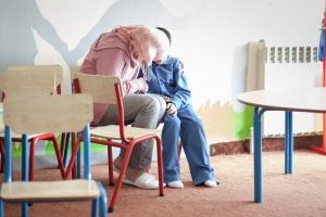 La guerra ha generado en los niños patologías como depresión o estrés postraumático. Javi Julio | Nervio Foto